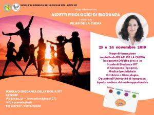 """Stage di formazione """"Aspetti Fisiologici della Biodanza"""" @ Scuola di Biodanza della Sicilia SRT - Rete IBF"""